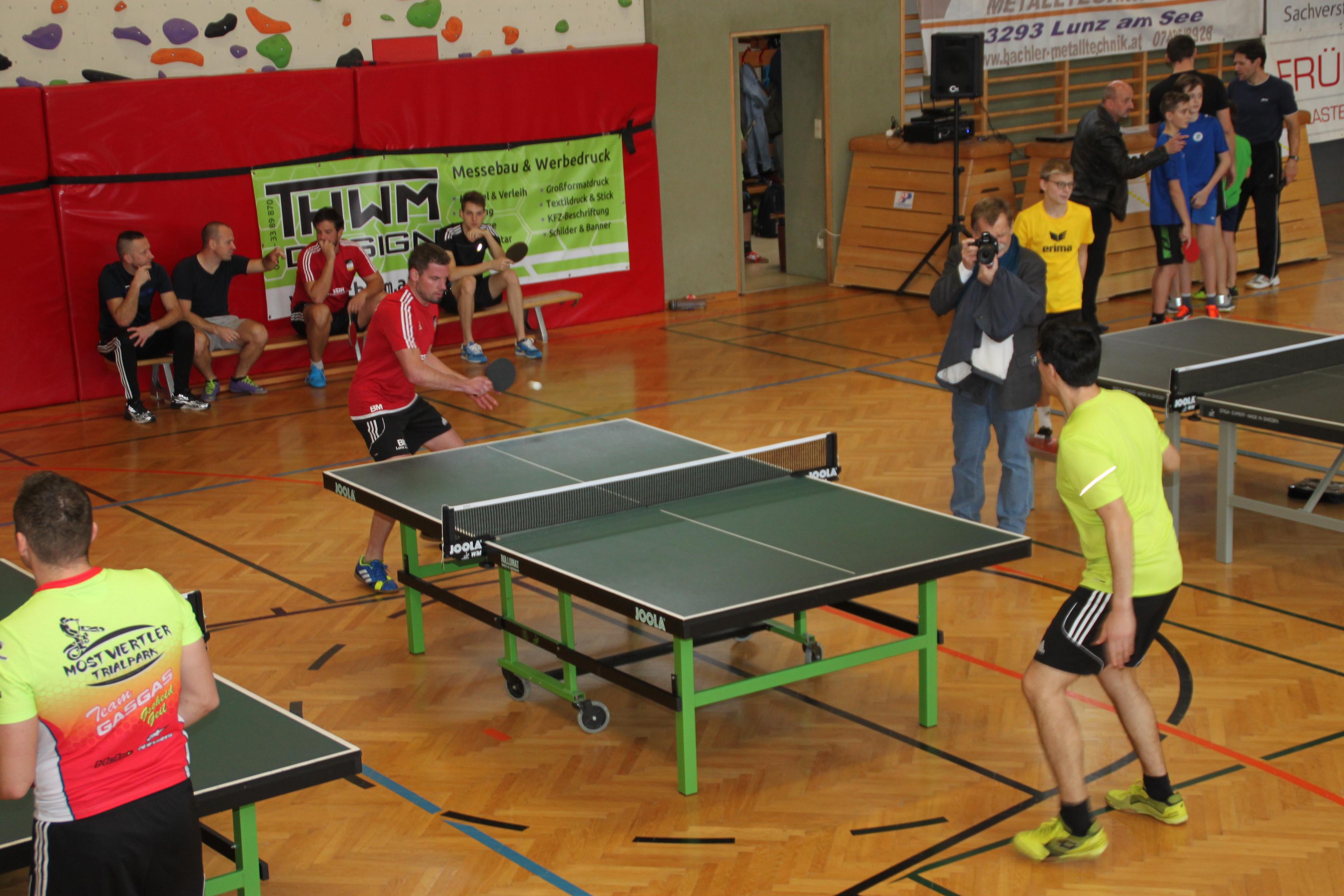 Beim 4. ASKÖ-Tischtennis-Turnier für Hobby-Spieler sind Sportler aller Altersklassen willkommen. Der Bewerb startet am Samstag, 23. November, um 11.30 Uhr im Lunzer Turnsaal.